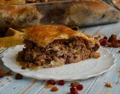 Πίτα με leftovers - Images
