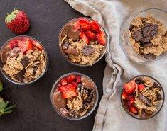 Ελαφριά μους σοκολάτας με γιαούρτι - Images