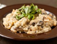 Ριζότο μανιταριών με σιτάρι  - Images