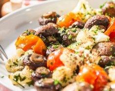 Μανιτάρια στο φούρνο με λαχανικά - Images