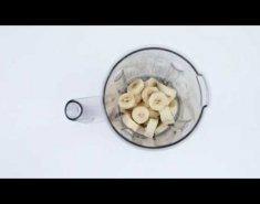 Παγωτό μπανάνα με φιστικοβούτυρο (video) - Images