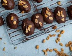 Μελομακάρονα με καραμέλα φιστικοβούτυρου και σοκολάτα - Images