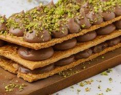 Μιλφέιγ σοκολάτας - Images