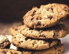 Μπισκότα με βρώμη και σοκολάτα  - Images