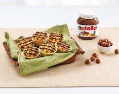 Τρίο από μίνι μάφιν με Nutella - Images