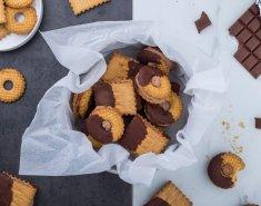 Πανεύκολα γεμιστά μπισκότα με σοκολάτα γάλακτος - Images