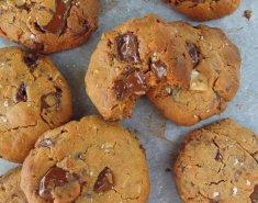 Υγιεινά μπισκότα με φιστικοβούτυρο - Images