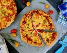 Ελαφριά πίτσα φτιαγμένη με προϊόντα Lidl - Images