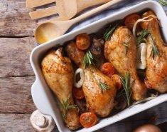 Μπουτάκια κοτόπουλου με κάστανα  - Images