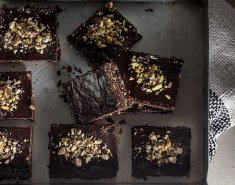 Raw Vegan Brownies - Images