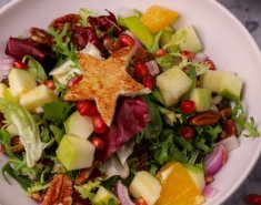 Σαλάτα με ρόδι, σταφίδες και καρύδια - Images