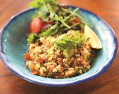 Σολομός με φακές και Paul's Finest Quinoa  - Images