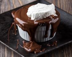Σουφλέ σοκολάτας γάλακτος - Images