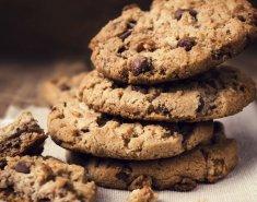 Μπισκότα σοκολάτας με μαύρη ζάχαρη  - Images
