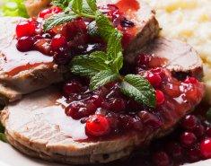 Βοδινό με σάλτσα cranberry - Images