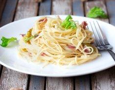 Ζυμαρικά με σκόρδο και προσούτο  - Images