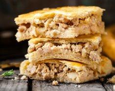 Κοτόπιτα με τυρί και αυγά  - Images
