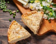 Πίτα με μυζήθρα και κρεμμύδια  - Images