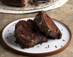 Vegan κέικ σοκολάτας - Images