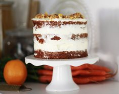Vegan carrot cake - Images